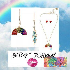 🌈  Rainbow Necklace &  2 Earring Set ⚡️